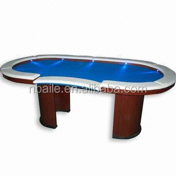 84inch Delux LED Light Casino Style Poker Table