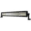 led ramp led light bar 4x4 prototype vehicle Waterprooe led light bar curved quad 4 rows 8D led bar For OffRoad 4x4 Truck SUV