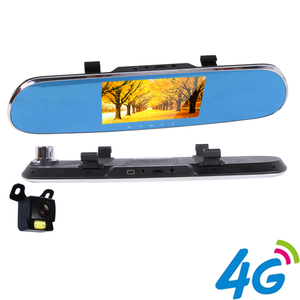 HD Dual Lens Car Recorder FHD 1080P Car Camera DVR Video Recorder Rearview Mirror Vehicle Traveling Data Recorder