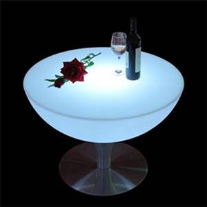 RGB light changing led furniture/led nightclub coffee table for indoor and outdoor using