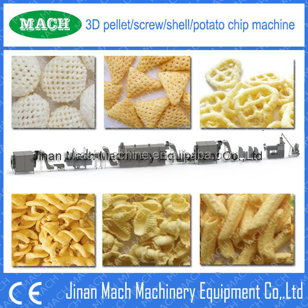 papad 3D Pellet fryums making machine