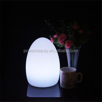 Led Egg Glow Mood Lamp - Rechargeable Wireless Lantern ...
