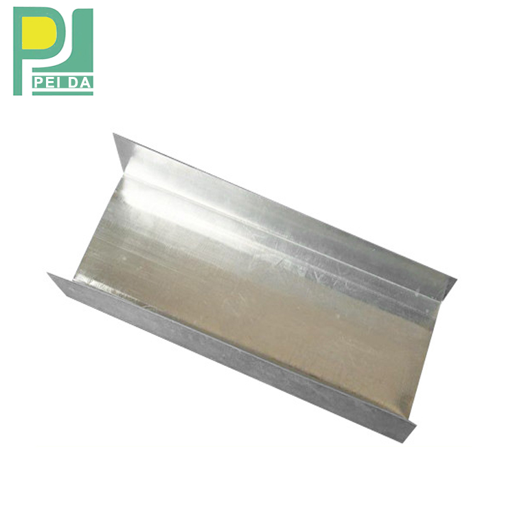 Metal Profile with Galvanized Steel Strip Material