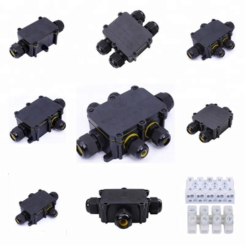 Tuv Small Plastic Waterproof Outdoor Electrical M20 Cable Gland Terminal  Junction Box - Buy Outdoor Cable Junction Box,Waterproof Electrical  Junction