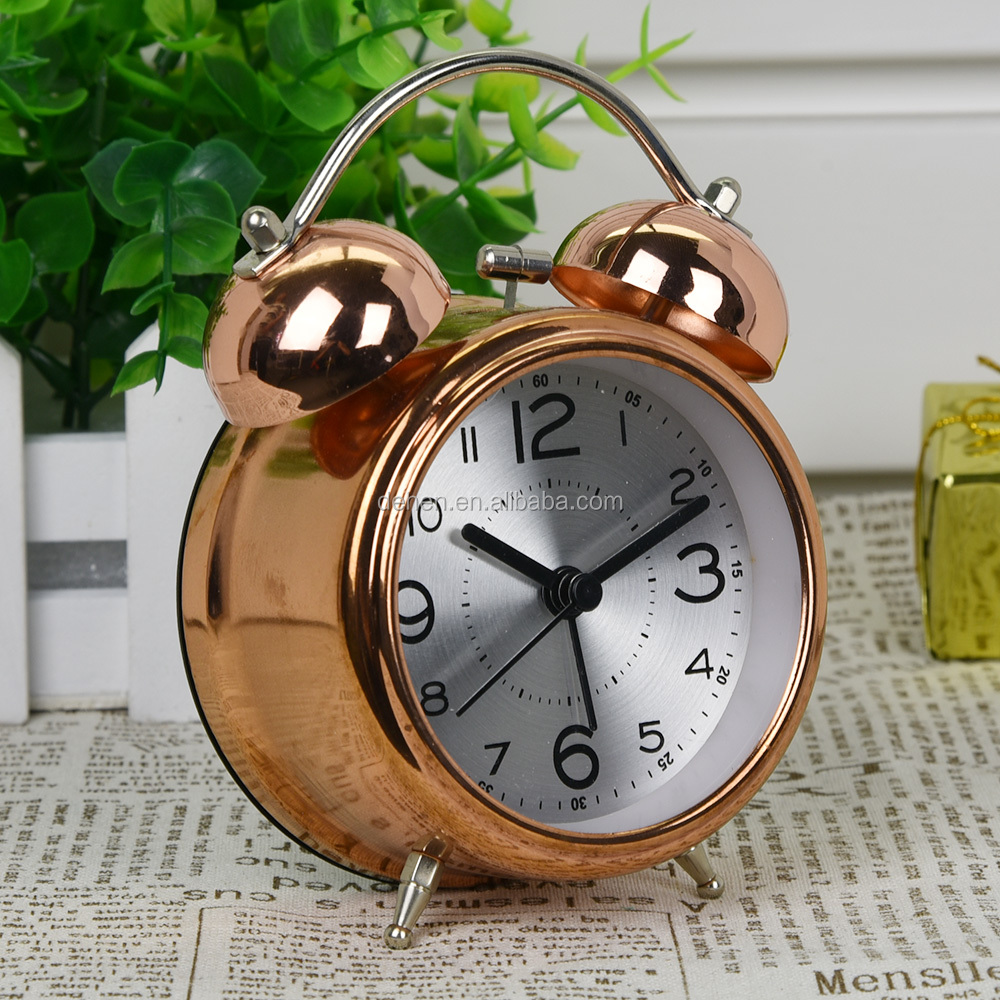 table decoration alarm clock