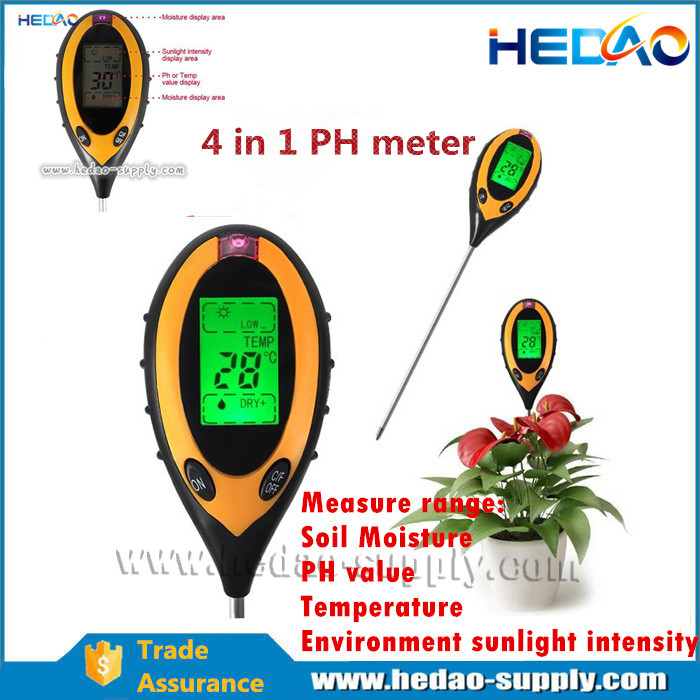 KC-300 ph meter for soil and water in China