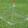 HF Wholesale 12 Inches Crystal Singing Pyramid For Clearing Negative Energy
