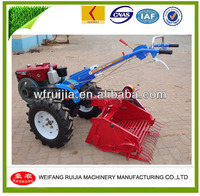 Made In China Mountain Used 8-15Hp Walking Tractor With Farm Implement Garlic Planter