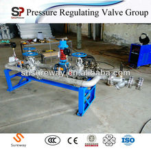 Industrial Gas Pressure Reduce and Controlled Regulating Valves Group