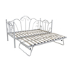 European Daybed Indoor Furniture Folding Wrought Iron Sofa Bed Frame Y