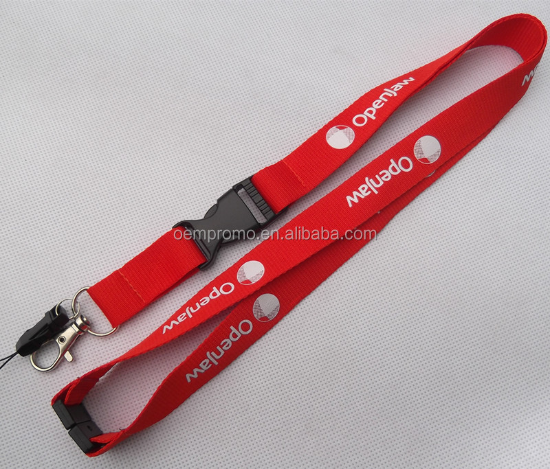 PROMO Cheap Custom Polyester Sublimation Breakaway Lanyard
