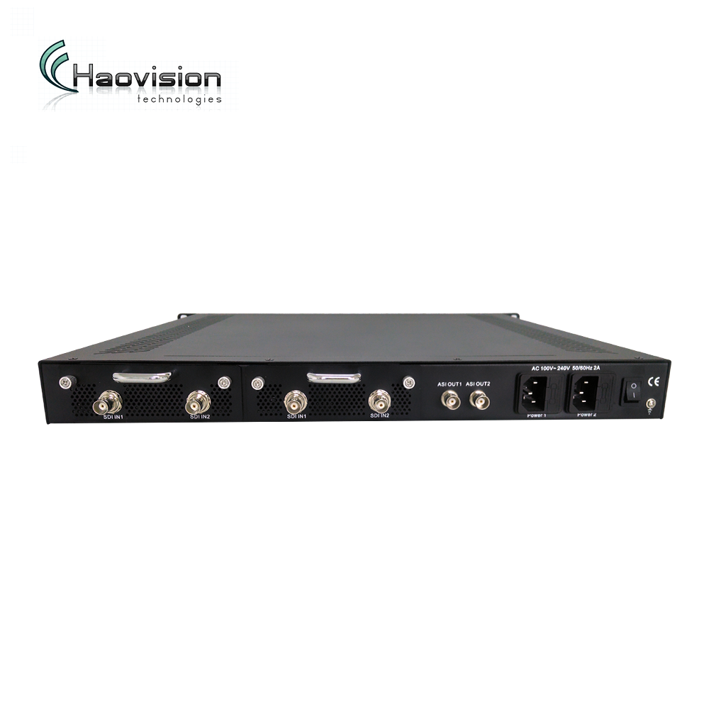 Broadcast grade hdsdi to ip encoder for Cable,Satellite,IPTV and Terrestrial applications