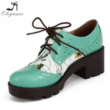 2017 New Design Unisex Casual Shoes Navy Flower Printed Women Waterproof Boat Shoes Lace Up Breathable Platform Safety Shoes