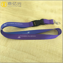 Polyester Nylon Custom Color and Logo Lanyard for Card Holders