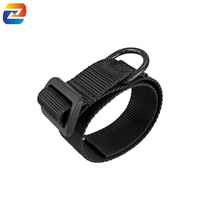 Heavy Duty Nylon Webbing ButtStock Sling Adapter with D-Ring for Hunting Rifle