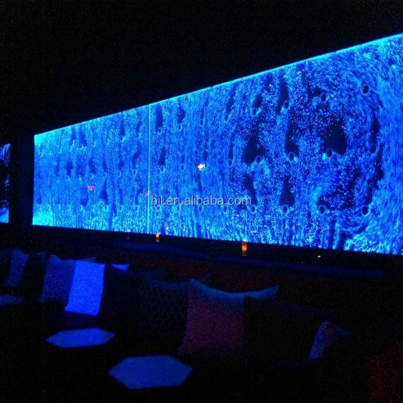 F hrte wasserfall panel nachtclub bar dekoration bar und lounge m bel kunststoff tisch produkt - Dekoration lounge ...