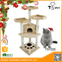 Christmas Sales Good Reputation Indoor Funny Cat Tree
