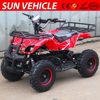 Wholesale cheap CE Approval 500W 36V mini Electric Kids ATV Quad