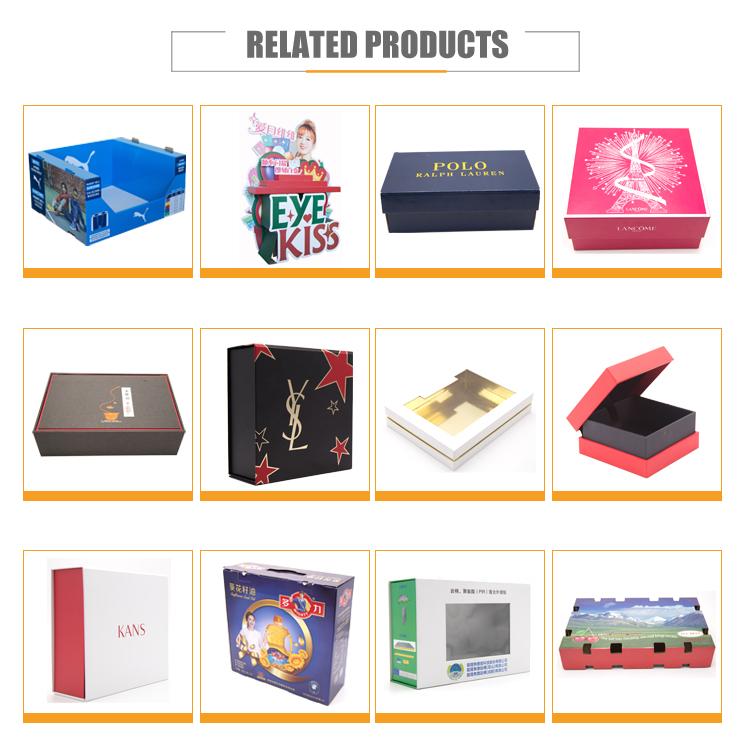 Custom print zwart matte cosmetische lippenstift parfum verpakking hard papier karton gift box
