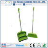 Factory supplier easy to clean broom long handle with hand dustpan set