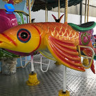 16 Seats Electric Kiddie Rides Ocean Carousel Amusement Park Equipments for sale