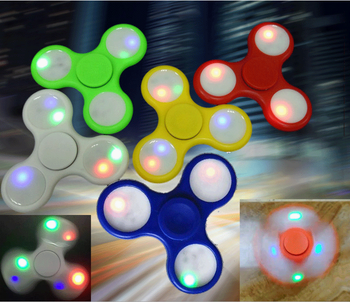 New Arrival ABS Plastic Spinner Toys Good Quality New Design Led Fidget Spinner With Best Price