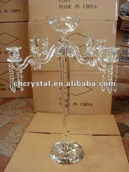 Flower Bowl Wedding Crystal Candelabra.crystal Wedding Center Table Pieces
