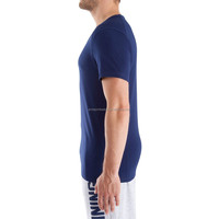 Wholesale Dry Fit Shirts Men Casual Shirts Fitness T Shirts V-Neck Active Tops