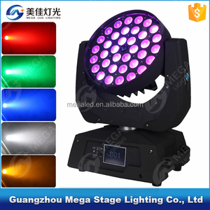 Professional Stage Lighting Eternal Max Wash 360 Zoom Robe Robin 600 4in1 RGBW 36pcs 10w LED Moving Head light