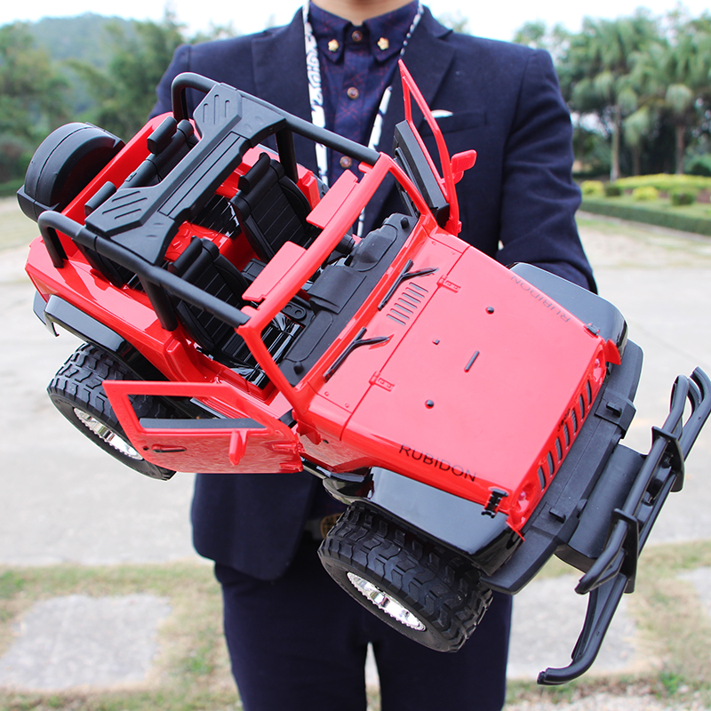 Good quality! Crash-proof, crash-proof, remote-controlled off-road vehicle rechargeable toy car