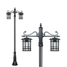 Free sample victorian garden lamp post lanterns for home