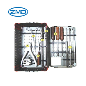 Orthopedic instrument Medical Instruments case Spine Titanium Mesh cage Instruments Set