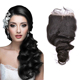 Wholesale High Quality 6A Loose Wave Cheap Closure Brazilian Human Hair