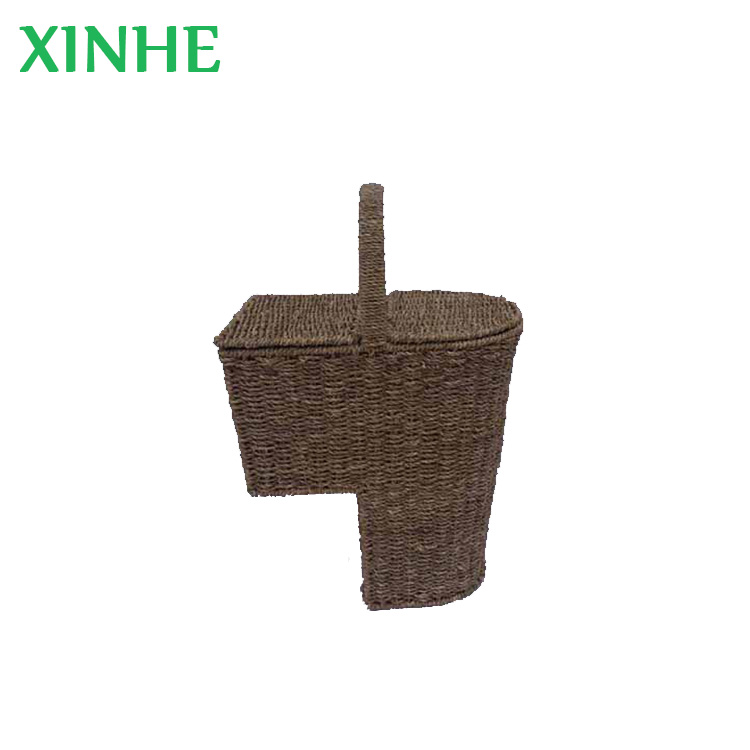 Natrual Seagrass Woven Stair Baskets With Handle   Buy Stair Baskets  Product On Alibaba.com