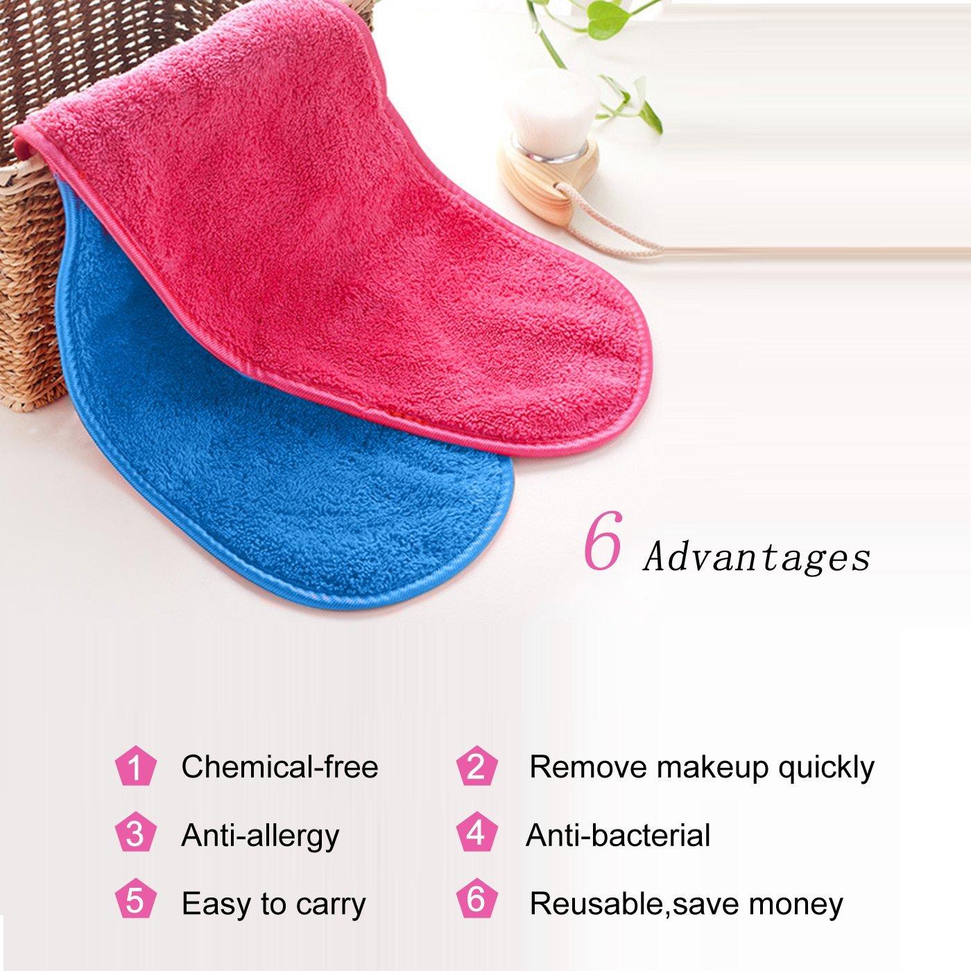 New promotion free sample 100% microfiber makeup remover towel black/makeup eraser cloth