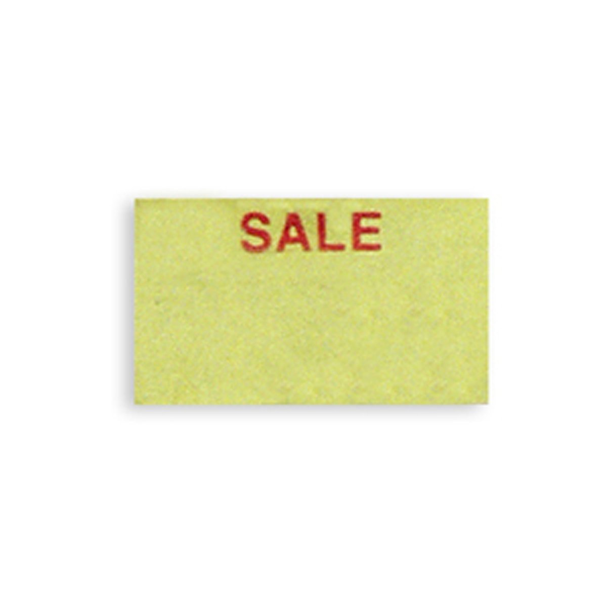 Jewelry Price Tag Labels for Dennison 106 Label Gun Yellow Sale Retail Store Fixture New
