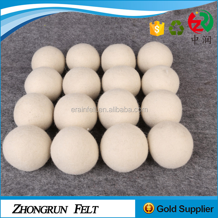 Amazon Supplier High Quality Home Dryer Laundry Ball Wool Handmade Washing Ball With OPP Package