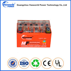 High discharge rate 20% discounts 12v 7ah long life motorcycle battery