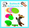 Colorful Non-toxic Silicone Frisbee Pet Toy