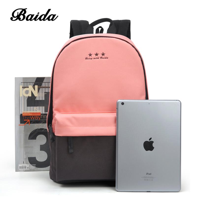 ba5c6862c02f Мода рюкзак для женщин для отдыха Back Pack корейские дамы повседневное  дорожные сумки школы подростков обувь