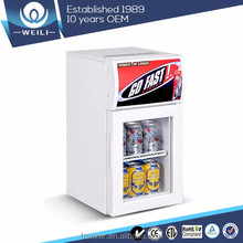 50L Countertop commercial Beverage Pepsi display mini Fridge for bar and supermarket wholesale price