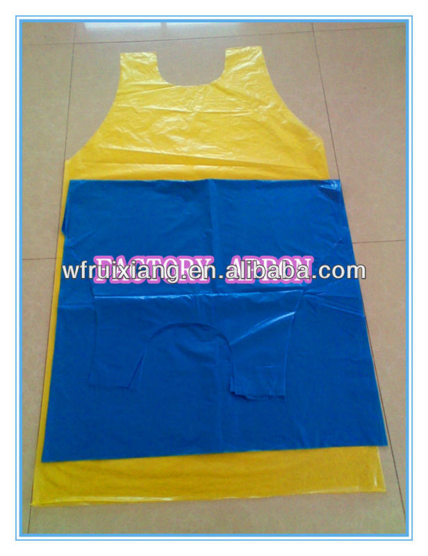Pe Disposable Smock Apron
