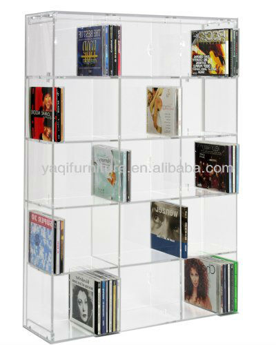 Acrylic Transparent Bookshelf