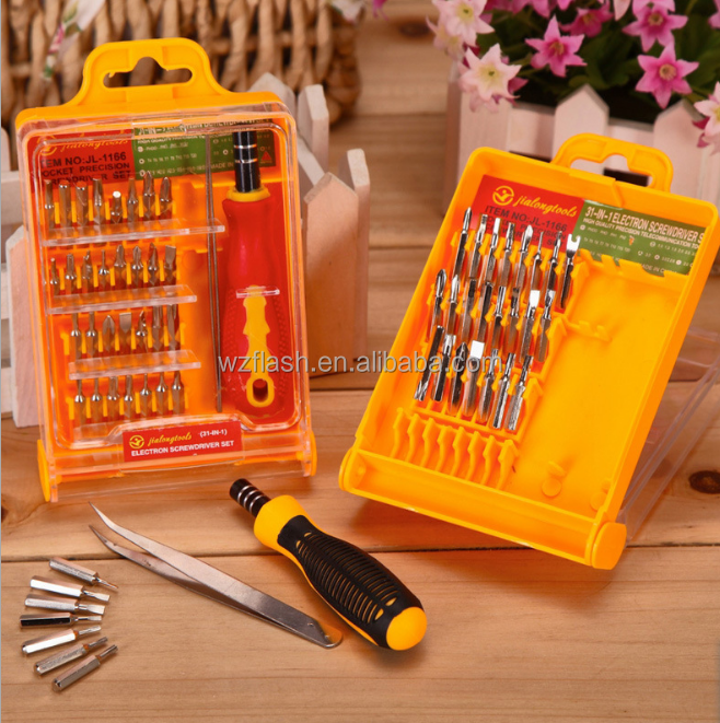 easy carry professional ratchet Promotional mini hand screwdriver tool set wholesale China