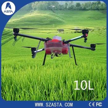 Fertilizer 10l Electric Agriculture Drone Automatic 6 Quadcopter Pesticide  Sprayer - Buy Agriculture Drone,Fertilizer Agriculture Drone,Pesticide
