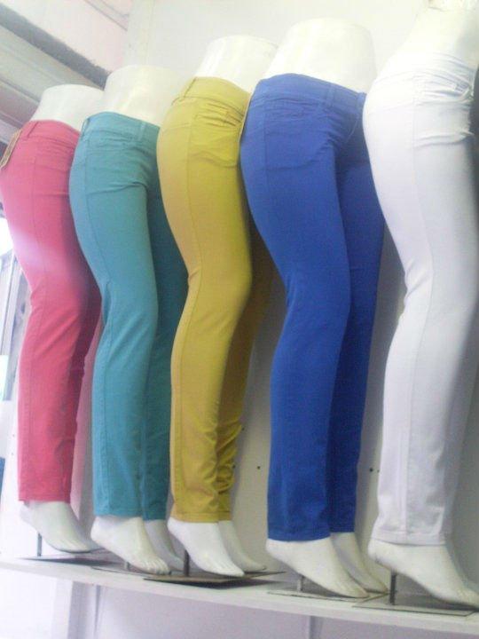 Pantanones Stretch De Colores