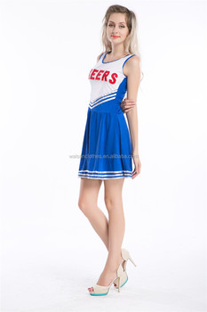 Instyles Damen Karneval Kostume Cheerleader Cheerleader Kostume