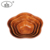 Wooden bowl suppliers wholesale high performance flower shape woven wooden food bowl