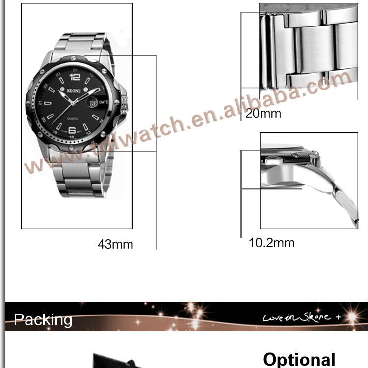 Buy Online Aliexpress Best Seller Watches Man Luxury Popular Watch