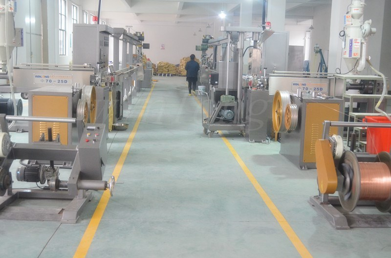 Excellent Performance New selling different types Building and security cable extrusion line
